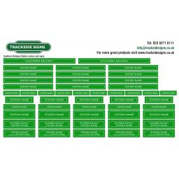 Southern Railway Station Name Signs - Green & White.jpg