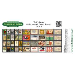 Undergound Poster Boards - Pack 4 - TSSPB0026.jpg