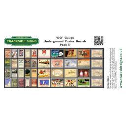 Undergound Poster Boards - Pack 5 - TSSPB0027.jpg