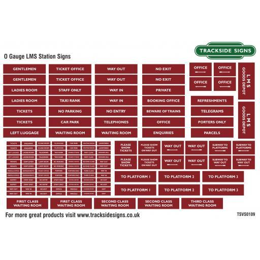 LMS Maroon - Station Signs - O Gauge - TSVS0109.jpg