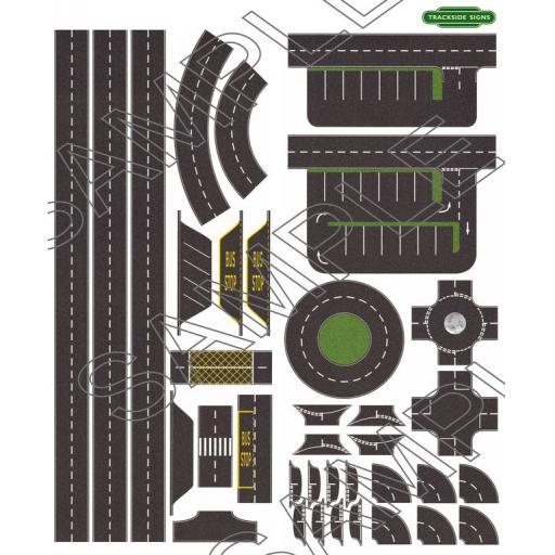 Road Layout Sheet - N Gauge