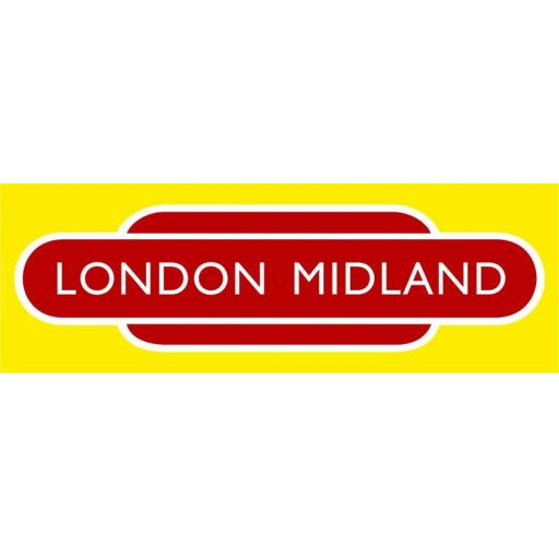 British Railways London Midland Di-Bond Totem