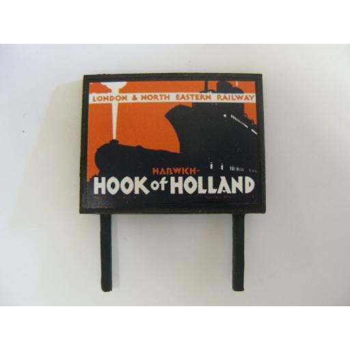 Harwich, Hook of Holland