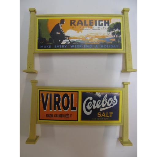 Looks Like Hornby - Raleigh The All-Steel Bicycle | Virol, Cerebos Salt