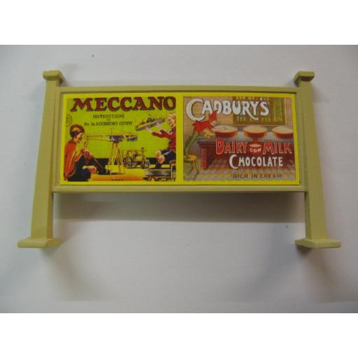 Looks Like Hornby - Meccano, Cadbury's | Lyon's Tea, Robin Starch & Cadbury's Chocolate