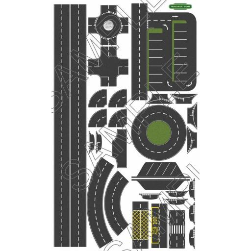 Road Layout Sheets - OO Gauge
