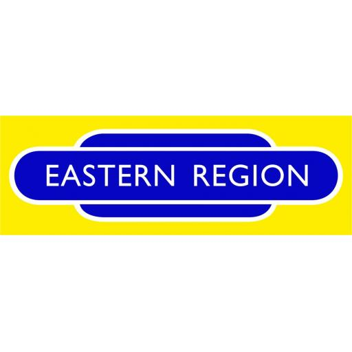 British Railways Eastern Region Di-Bond Totem