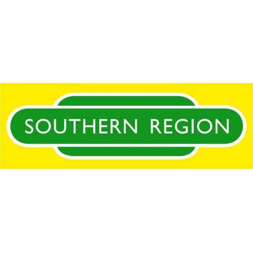 British Railways Southern Region Di-Bond Totem