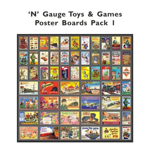 Toys and Games Poster Boards - N Gauge