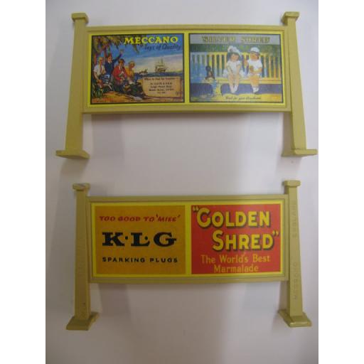 Looks Like Hornby - Meccano, Silver Shred | K.L.G, Golden Shred