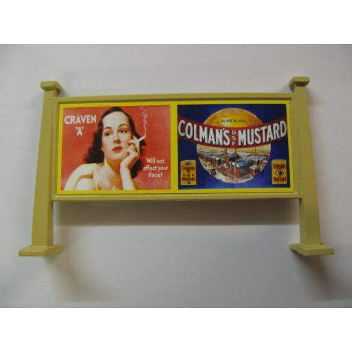 "Looks Like Hornby - Virol, Cerebos Salt | Craven ""A"" & Colman's Mustard"