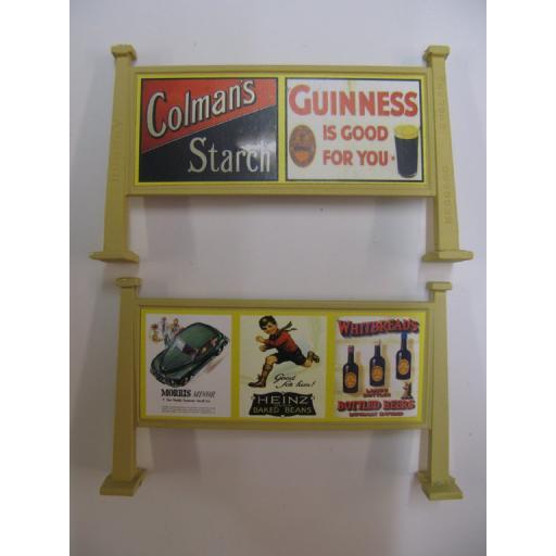 Looks Like Hornby - Colman's Starch, Guinness | Morris Minor, Heinz Baked Beans, Whitbread's