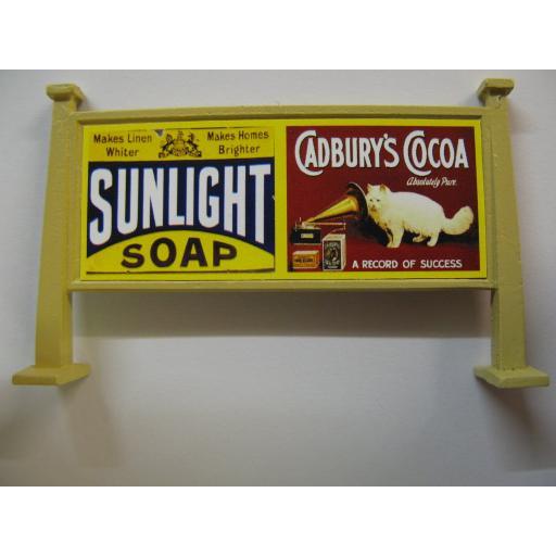 Looks Like Hornby - Sunlight Soap, Cadbury's Cocoa | Raleigh, BP, Bournvita